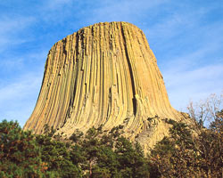 Devils Tower i Wyoming.