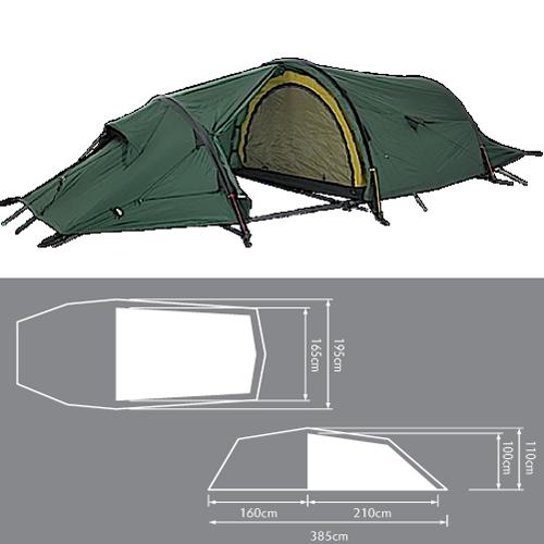 Bergans Trollhetta 3 | Tent, Hiking tent, Cool tents