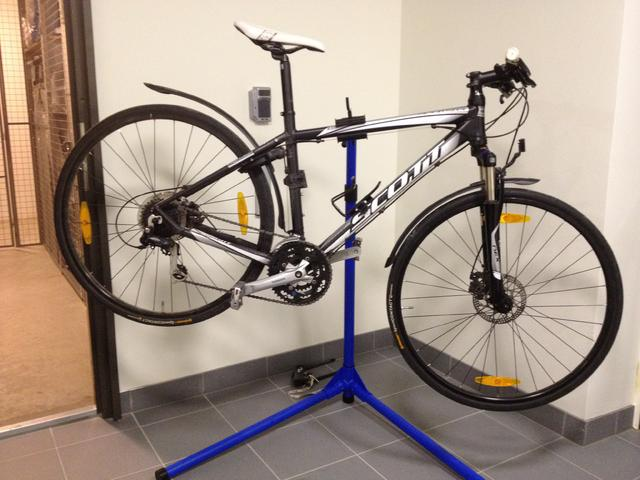 mekställ cykel
