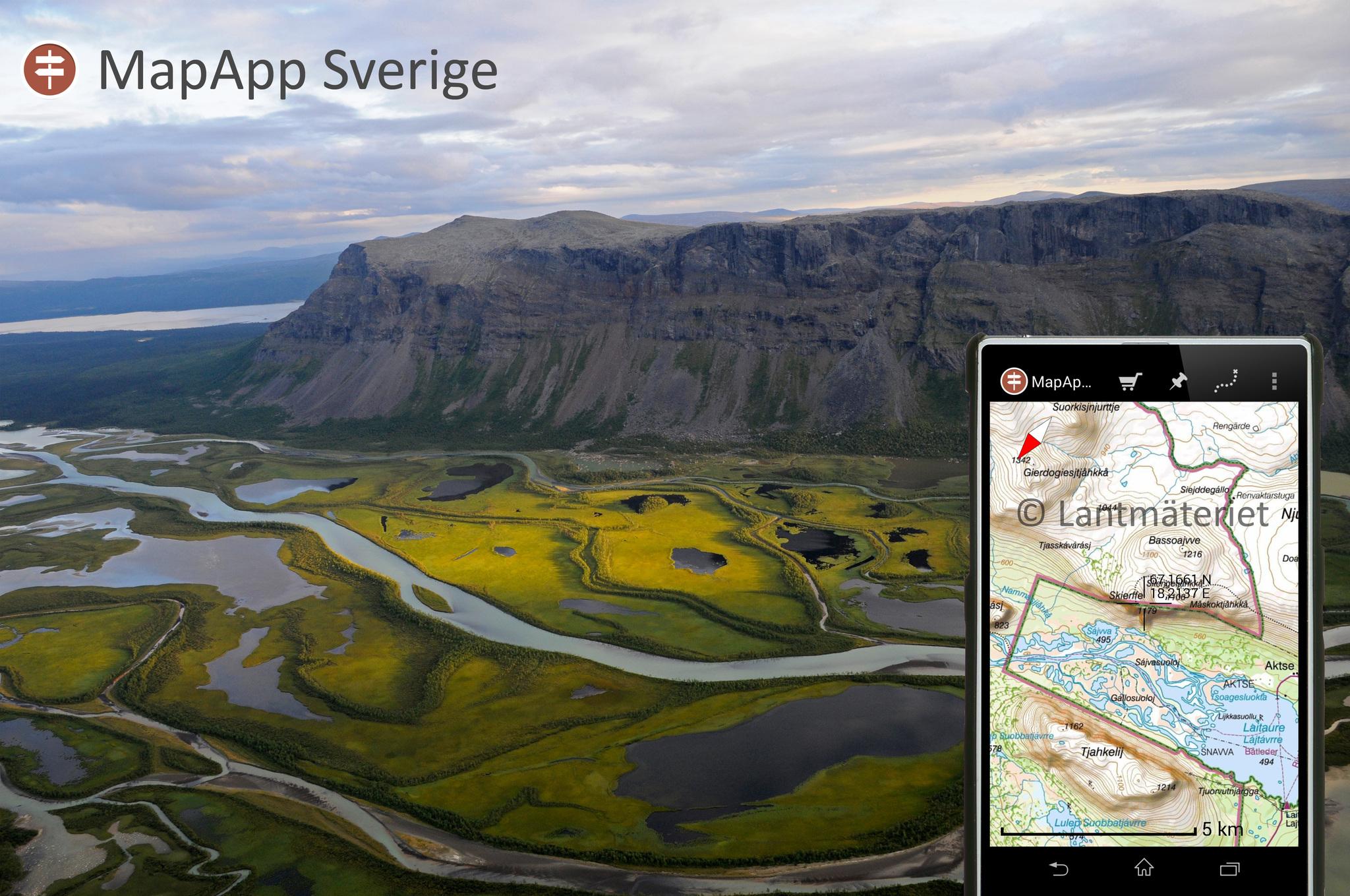 Topografiska Kartor For Hela Skandinavien Utsidan