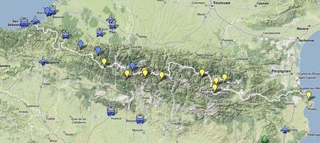 pyreneerna karta Hur jag planerade för vandring i Pyrenéerna   Jonas   Utsidan pyreneerna karta