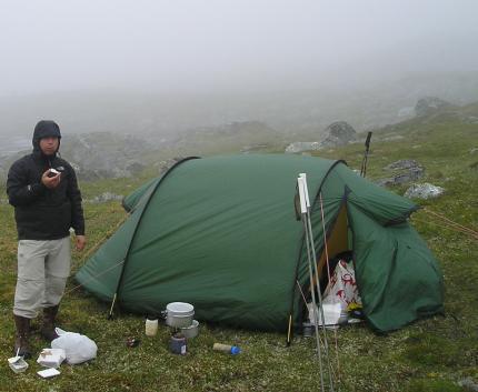 Frukost i dimman