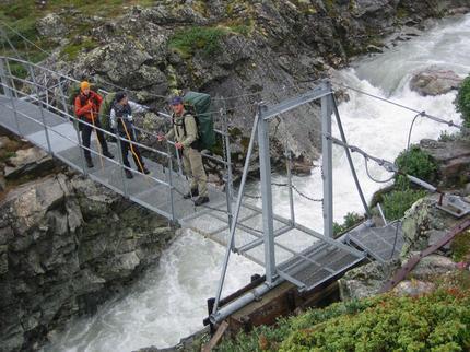 Bron över Gådokjåkkå