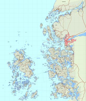 Interaktiv Aktivitetskarta Stromstad Skargard Utsidan