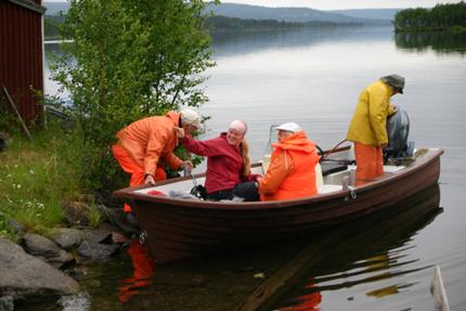 Avfärd från Jäkkvik