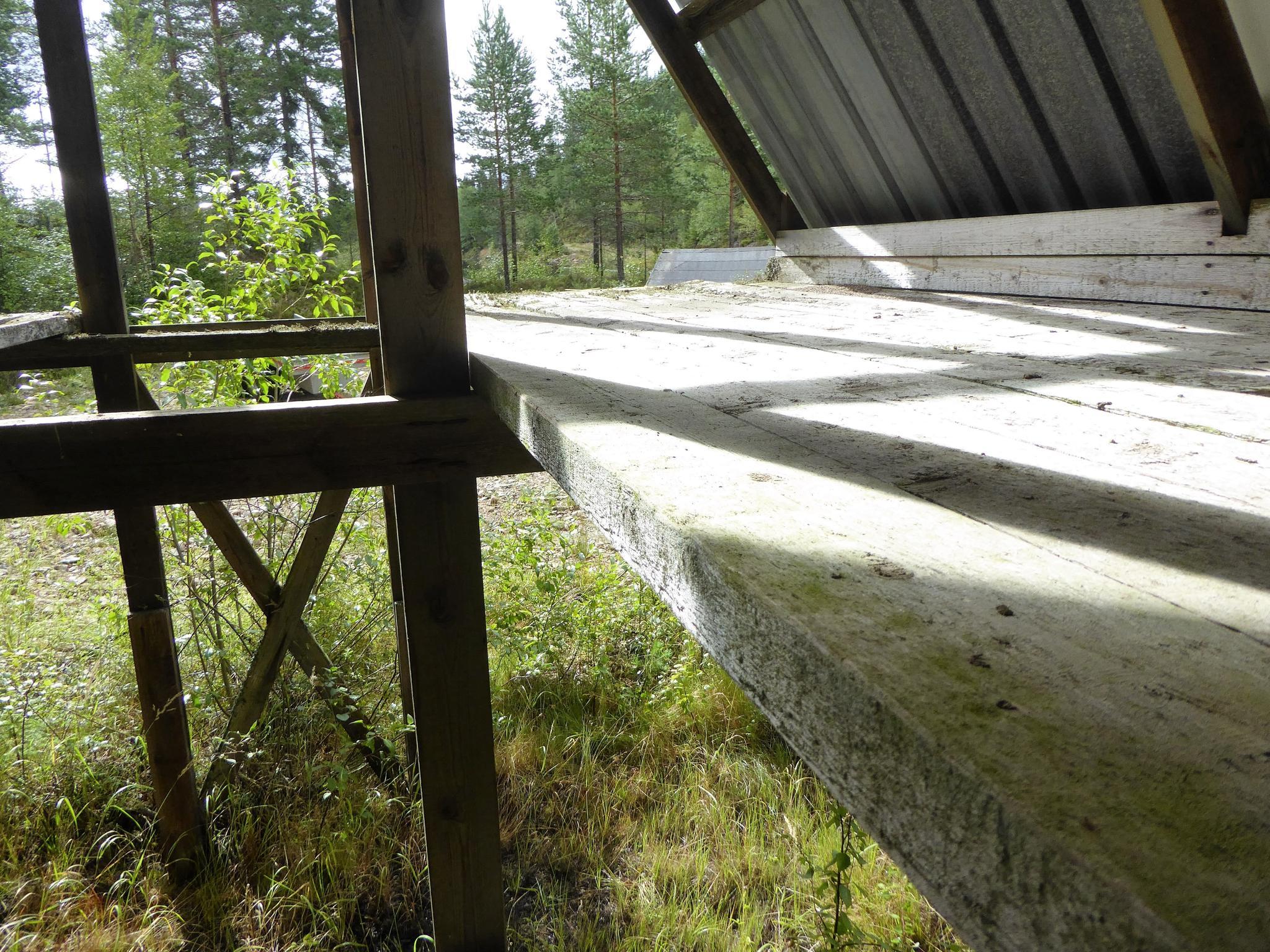 Nio arenor har byggts i ett gammalt trask
