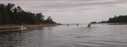 På väg mot Lurö